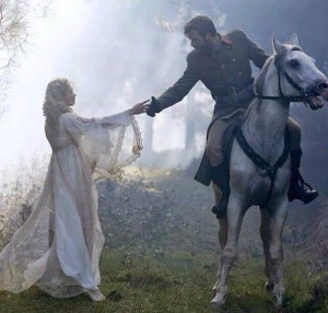 knight in shining armor with princess